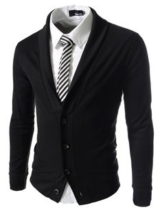 TheLees Mens Slim Fit Collar Point Button Cardigan at Amazon Men's Clothing store Size Medium (US Small): http://www.amazon.com/gp/product/B00CTTZ5I2?ie=UTF8&camp=1789&creativeASIN=B00CTTZ5I2&linkCode=xm2&tag=i0d43-20