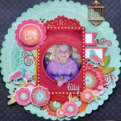 Made Using the Spring Bloom Paper Collection from Kaisercraft By Kelly-ann Oosterbeek