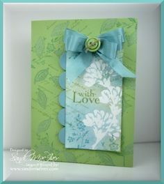Charming Love & Care - 10 minute card challenge. by SandiMac - Cards and…