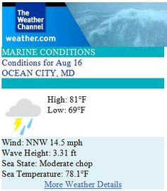 august 16 2014 weather prediction