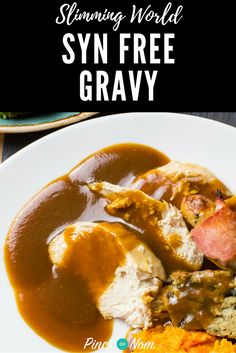 Syn Free Gravy | Slimming World Recipes - pinchofnom.com