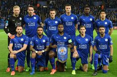 Leicester City FC - Winning team against Sevilla FC in Champions League.