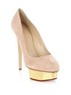 68d56df007e8 Charlotte Olympia Dolly signature high heel platform shoe Olympia Shoes