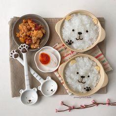 Polar Beer congee breakfast by Margaret TatTa (@margaret_tatta)