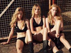 Super Normal Super Models - Anna Ewers Suvi Koponen, Lara Stone