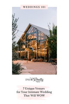 If the last year has taught us anything it's that intimate weddings can be just as beautiful and even more personal than a bigger event. On SMP, we're sharing a curated a list of less conventional locations for your intimate event to be brought to life. | Photo: @theedgeswed #stylemepretty #weddingvenue #weddinglodge #dreamwedding #weddings101 Romantic Wedding Photos, Table Scapes, Outdoor Events, Life Photo, Intimate Weddings, Corporate Events, Sims 4, Event Planning, Wedding Venues