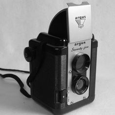 The Argus 75 is a fun little bakelite wonder from Ann Arbor-based Argus.  Produced from about 1949-1964, the camera takes 620 film.  It ha...
