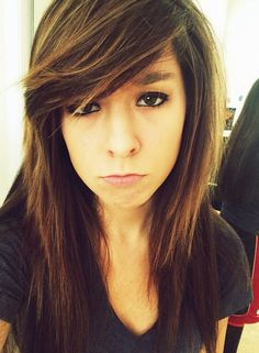 Christina Grimmie hairstyle