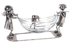 Metal Fruit Bowl - Lucy and Lee Swing Funky Fruit, Fruit Storage, Great Christmas Gifts, Take That, Organic, Metal, Silver, Baskets, Jewelry