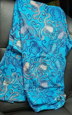 Lularoe TC leggings **Octopus ** New print **hard to find** Beautiful blue color in Clothing, Shoes & Accessories, Women's Clothing, Leggings | eBay