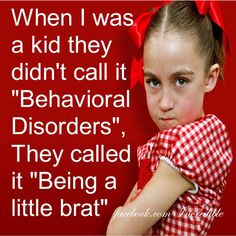 Yes, we need to drop labels and take ownership of our kids behavior!!!~Kristin
