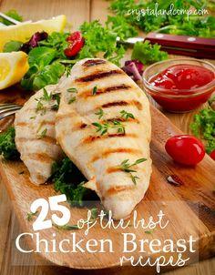 25 good chicken breast recipes