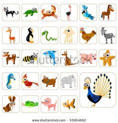 cd80-vector-cartoon-animals-big-set-55904692.jpg (481×502)