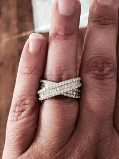 We have a WINNER $7,500 One of our customer got a token and her RING is worth $7500 This is the beautiful $7500 RING www.jewelscent.com/Lucretia Here is the customer and her Jewelscent consultant