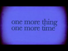 1mt 1mt - Josh Sundquist one more thing one more time.