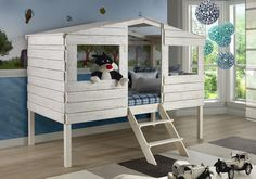 Tree House Loft Beds for Kids - Custom Kids Furniture