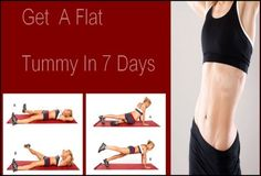 Get A Flat Tummy In 7 Days & Flat Belly Exercises | News At Life