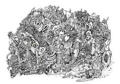 The Rumble by linsey levendall, via Behance