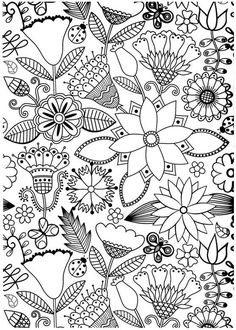 anti stress coloring book | Coloring Pages