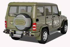 M-Tek Rear Guards Star DP.DX Design Mahindra BOLERO  Type-1