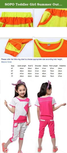 SOPO Toddler Girl Summer Outfits Star 2 pcs Sport Set Pink 5t. Standard Shipping Time : 17-26 days to America or EU . . . Brand: 100% New .