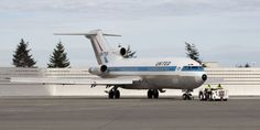 The former United airliner hasn't flown in a quarter-century.