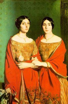 Théodore Chassériau - Deux soeurs c.1843