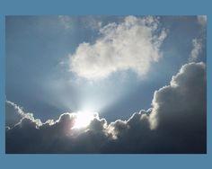Clouds Glowing8x10 by Sweetlandarts on Etsy, $20.00