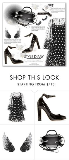 """""""Style Dairy"""" by dressedbyrose ❤ liked on Polyvore featuring Dolce&Gabbana, Louis Vuitton, AS29 and Balenciaga"""