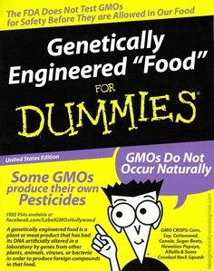 Smart Health Talk Warning: GMOs for DUMMIES. With so much happening to food today it's like a DNA gold rush. Corporations scramble to claim as much plant /animal DNA for themselves that laws allow, and if laws don't work for them they turn to what worked so well in the past, propaganda. With billions of dollars they hire the best in the business at hiding their lies. Truth came out during Prop #37 in California. Find out what we uncovered and see through what they are spinning to trick us.