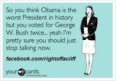 Bush, Romney & Obama