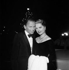 Frank Sinatra & Martha Hyer at the premiere of Some Came Running, 1958