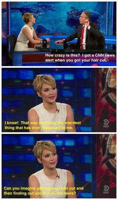 Jennifer Lawrence funny