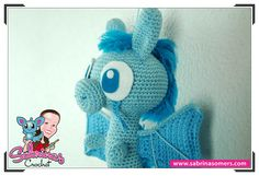 Blue Dragon - Crochet Pattern - Amigurumi