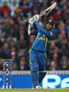 Kumar Sangakkara struck a century as Sri Lanka beat England at The Oval to keep their Champions Trophy hopes alive #cricket #sports