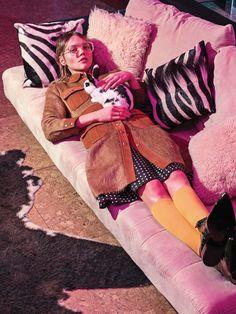 ☆ Sasha Pivovarova | Photography by Sebastian Kim | For Vogue Magazine Korea | May 2015 ☆ #Sasha_Pivovarova #Sebastian_Kim #Vogue #2015