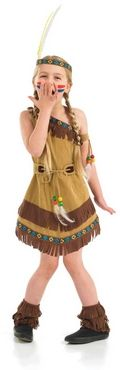 Pocahontas Indian Girl Fancy Dress Costume FUN2968