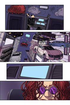 page 3 of Chase Art by William Blankenship.