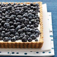 Blueberry and Buttermilk Tart