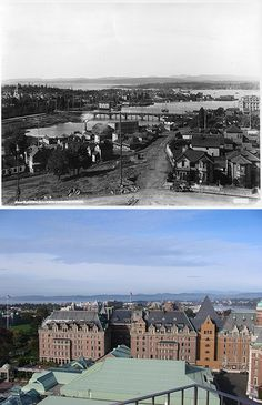 #Victoria, #BC - Then and Now