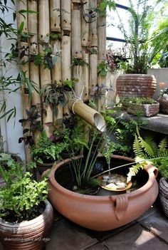 bamboo water feature MSB 28