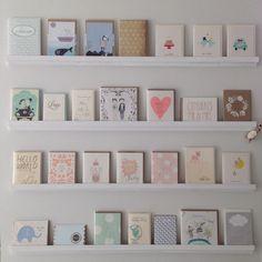 Noch mehr Kartenwände ;-) www.papermint.ch