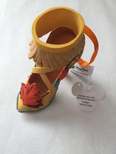 disney parks princess pocahontas shoe christmas ornament new with tag