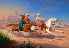 The Love Chase by Charles Christian Nahl