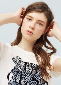 Camiseta - Camisetas de Mujer | MANGO España