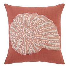 Ashley Furniture Lonan Pillow Cover in Coral