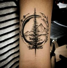 Wonderful Mountain Travel Tattoo on the forearm - Travel Tattoos # . - Wonderful mountain travel tattoo on the forearm – travel tattoos tattoos - Forearm Tattoos, Body Art Tattoos, New Tattoos, Small Tattoos, Tatoos, Beach Tattoos, Upper Thigh Tattoos, Temporary Tattoos, Compass Tattoo