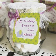 50 diy baby shower favors that can be made on the cheap Baby Shower Cakes Neutral, Boho Baby Shower, Baby Shower Favors, Baby Shower Parties, Baby Boy Shower, Baby Shower Gifts, Baby Showers, Shower Prizes, Unisex Baby Shower