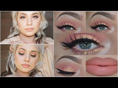 Another glamorous look perfect for a special occasion is this peachy coral look with lots of sparkle. It will definitely make you stand out in a crowd.   Read more: http://www.gurl.com/2017/01/24/gorgeous-easy-peach-eye-shadow-looks-tutorials-sweet-peach-too-faced/#ixzz4p20It8Gc