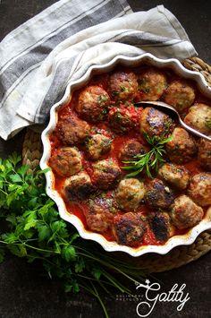 Kulinarne przygody Gatity - przepisy pełne smaku: Pieczone arabskie pulpety